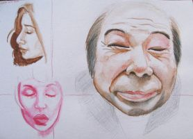 some face practice by konehita