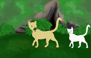 Thornclan medicine cat den and cats by Leopardpelt424