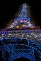 Blue Tour Eiffel by Hann88