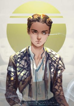 Game of Thrones --- Arya Stark by maorenc