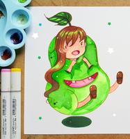 +Cute Pear+ by larienne