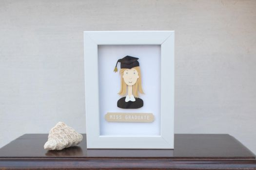 Miss Graduate by NVillustration
