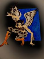 Day 1: Harpy by chaosqueen122