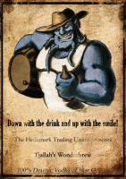 Tjallah - The Wandering Brewman by MadAlleyCat
