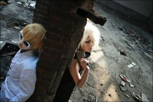 Dogs_Giovanni and Heine_2 by hybridre