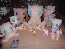 Mew Collection Update by davyjonesentei123