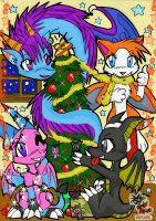 MeRrY XmAs 1 by white-dragoness