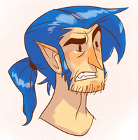 Random Elf Guy by annieawesomesauce