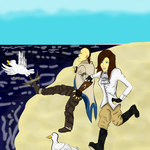 Duck Kicking by xTarynStormCaster