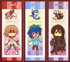 Bookmarks for Vienix by PhuiJL