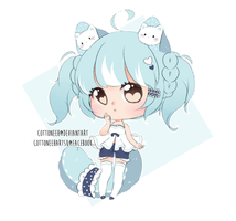 [Closed] Fluffian Kitty by Cottoneeh