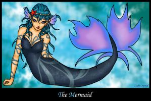 The mermaid by LadyCrystal