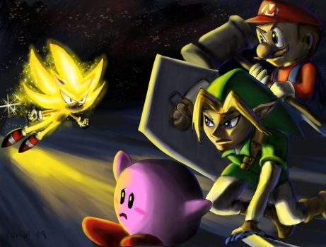 Final Smash Attack by NetRaptor