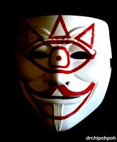Guy Fawkes Mask of Truth by drchipohpoh