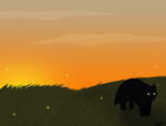 [ART TRADE] Summer's Dying Light by MidnightShadow88