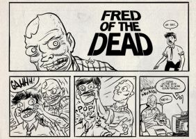FRED OF THE DEAD - View by sayunclecomics