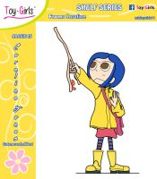 Toy Girls - Shelf Series 45: Coraline Jones by mickeyelric11