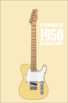 Fender 1950 Esquire by Pullerwhip