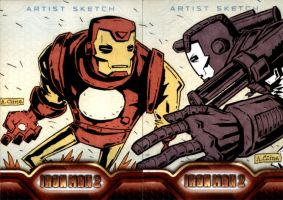Iron War Man Machine by soliton