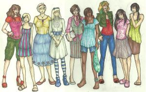 APH - Girls In Spring by Moon-Unit-Omega