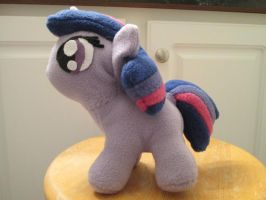 Filly Twilight Plushie - Side View by pyrmappege