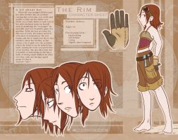 Character Sheet - Rebecca by Doodler-Bunny