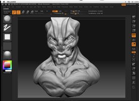 Alien Zbust 2 wip by Dill-n