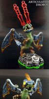 Articulated Skylanders Drobot by Jin-Saotome