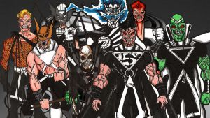Black lantern JLA by RWhitney75