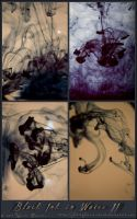Black Ink in Water II by fetishfaerie-stock