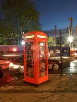 Red Phone Box by YesimMisey123