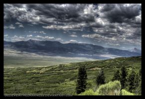 HDR Mountains by BelieveInTheDarkness