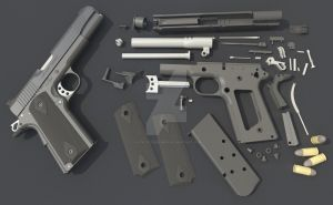 Kimber parts by LuckyScribblings