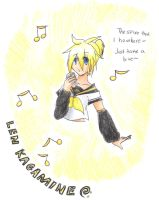 ::Len Kagamine- Take a bite of this Spice:: by NobodyBlues