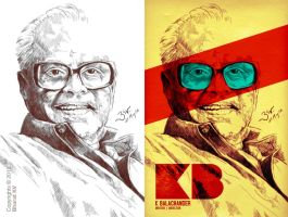 K Balachander by libran005