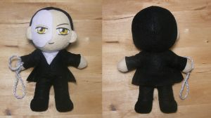 Phantom of the Opera Plush by sakkysa