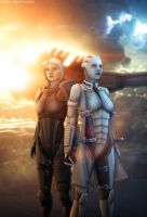 ME2 - 'Facing the Future' by Mecha-Potato-Alex
