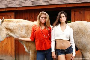 Stable girls 1 by JimOKeefePhotography