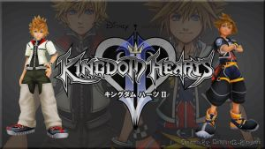 Kingdom Hearts II Custom Wallpaper by vampireknightgal