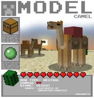 Minecraft - Camel by Dragonith