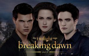 Breaking Dawn part 2 - Jacob, Bella and Edward by codeevanescence