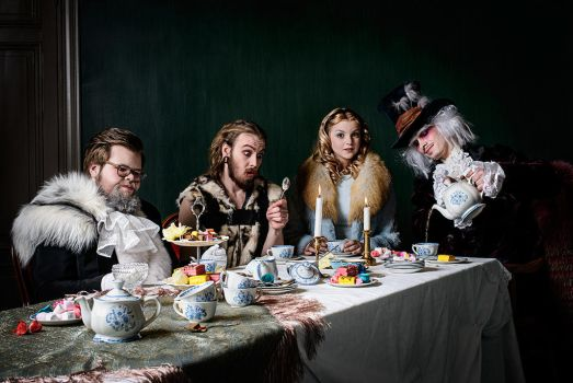 The Tea Party by KasperGustavsson