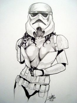 Storm Trooper Sexy By Miller by ConceptsByMiller