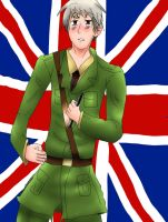Gilbert as Britain by ZzZNelliezZz
