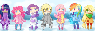 MLP: winter by lady-largo