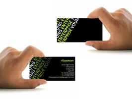 Business Cards Presentation by SJROBZY