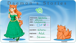 [DS] Fiche personnage Adelaide by MilouCaribou