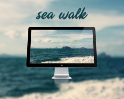 Sea Walk - Wallpaper by Hercules1997