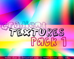 Gradient Textures Pack 1 by Wishy-chan