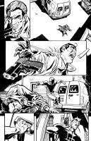Daredevil and Punisher pg 3 by deankotz